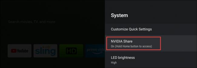 nvidia shield tv nvidia share