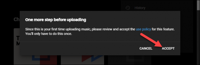 youtube music use policy