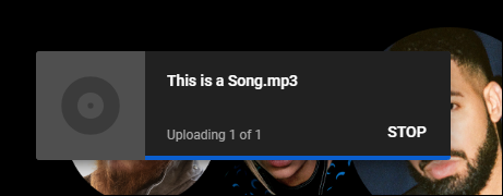 youtube music uploading