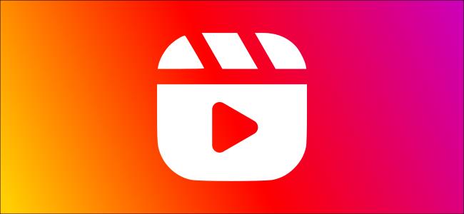 The Instagram Reels logo.
