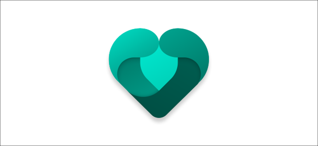 The Microsoft Family Safety app heart logo.