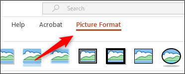"Click ""Picture Format."""