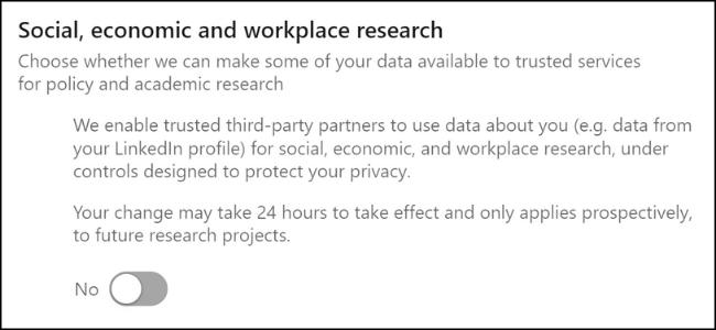 LinkedIn Participating in Surveys