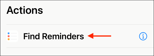 """Tap """"Find Reminders."""""""