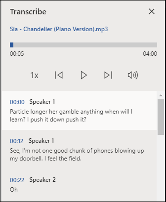 Sia's Chandelier lyrics