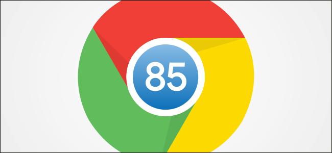 The Chrome 85 logo.