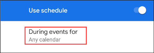 не беспокоить выберите календари