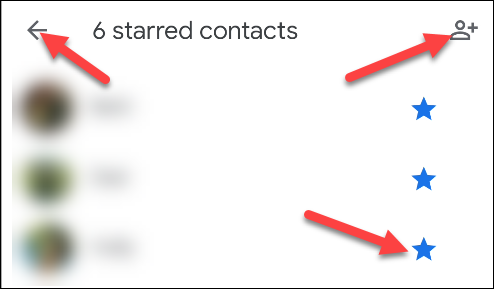 do not disturb, add starred contacts