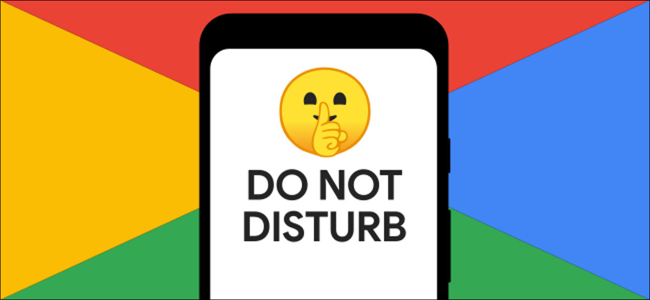 Do Not Disturb on a Google Pixel