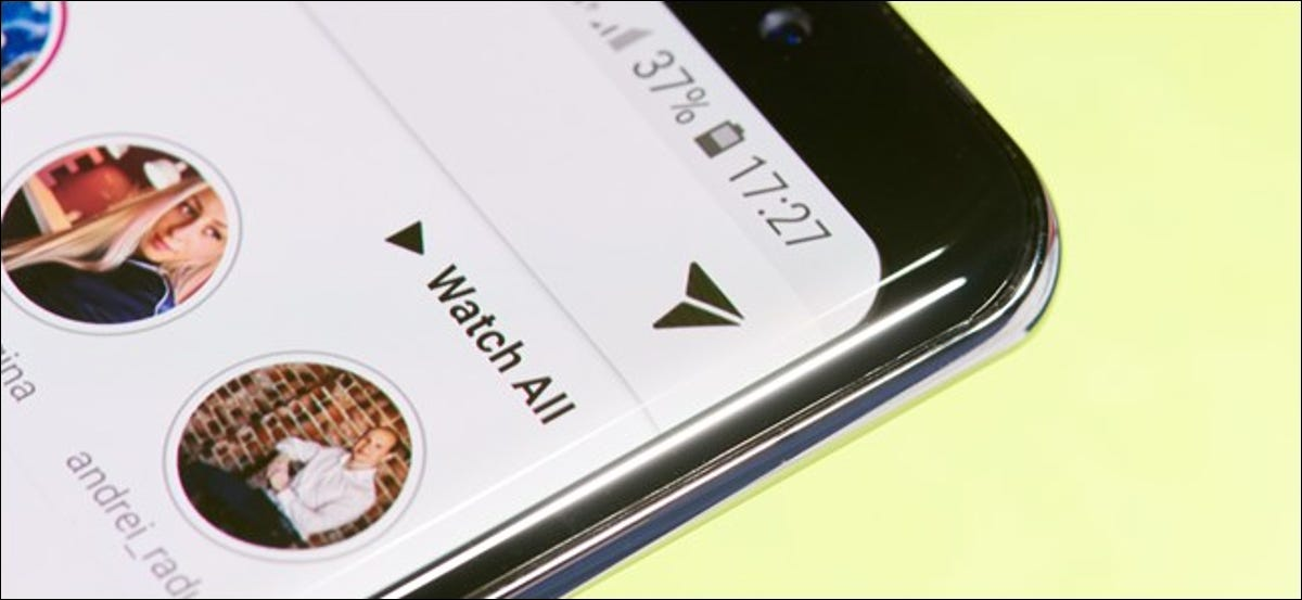 Instagram Direct Message interface in the mobile app