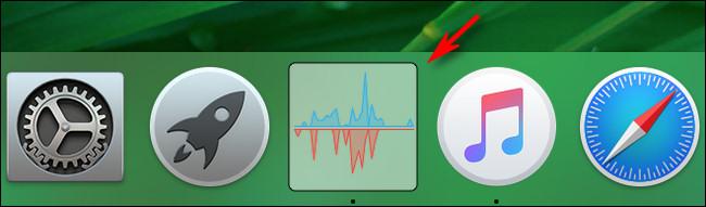 Mac Activity Monitor CPU Disk Activity icon