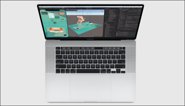 """MacBook Pro 2020 de 16 """"con teclado inteligente"""