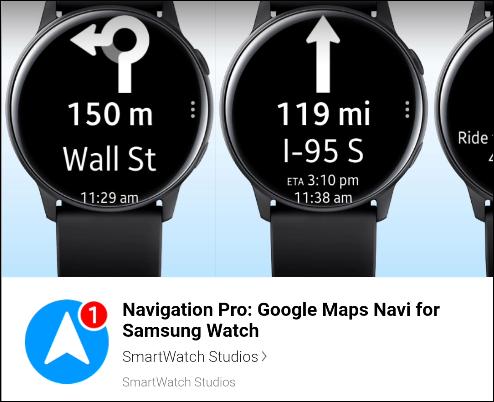 navigation pro galaxy apps