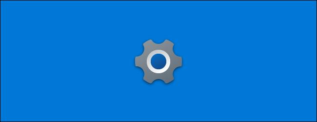 El nuevo ícono de Configuración en la pantalla de presentación de la aplicación en la actualización 21H1 de Windows 10.