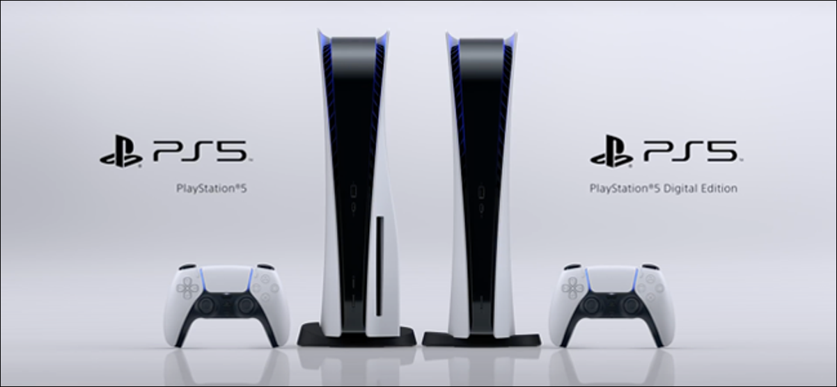The Sony PS5 and PS5 Digital Edition.