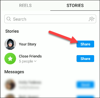 instagram reels stories