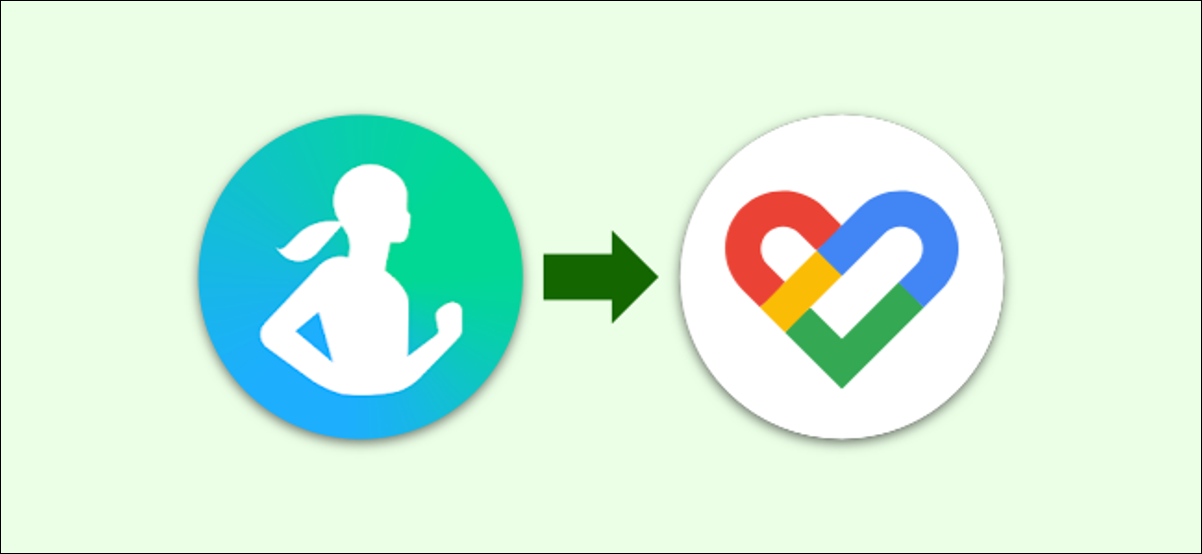 The Samsung Health and Google Fit logos.