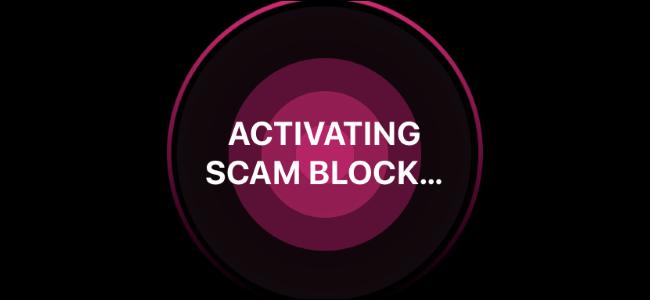 Scam Block.
