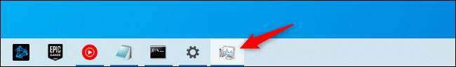 The Task Manager's taskbar shortcut icon.