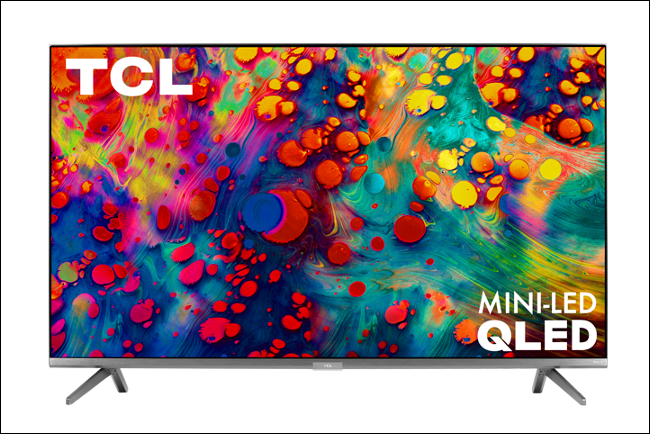 A TCL 6-Series Mini-LED TV.