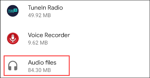 choose files to delete general files