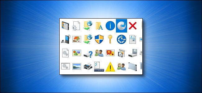 Iconos de Windows 10