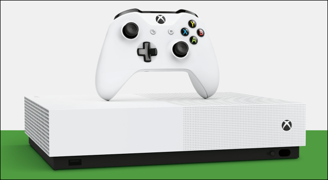 The Xbox One S All Digital Edition.