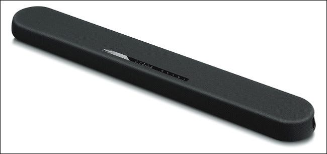 The Yamaha YAS-108 Soundbar.