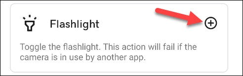 select flashlight