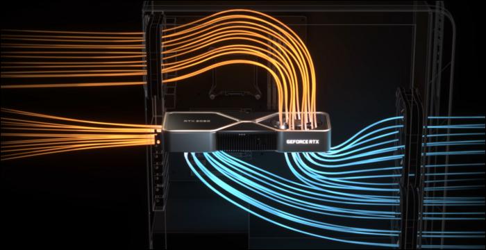 upwards fan on GPU leads to better case airflow