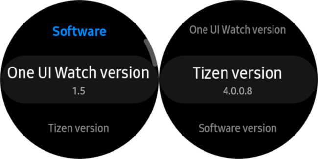 one onion and tizen information