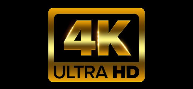 The 4K Ultra HD logo.