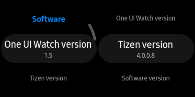 one ui and tizen information