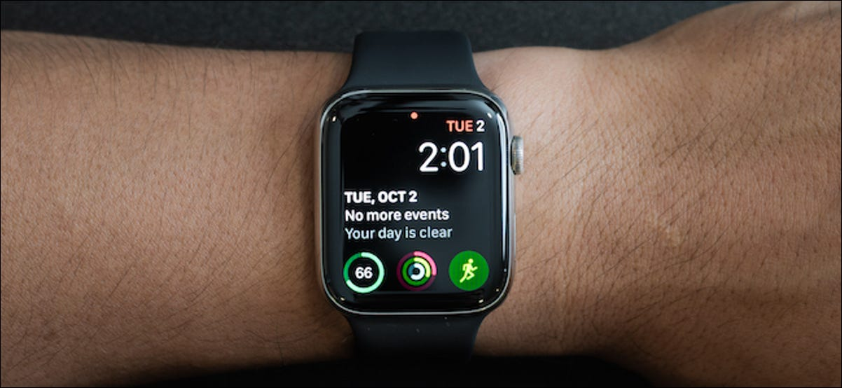 Apple Watch automatically switching to a watch face