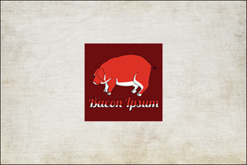 The Bacon Ipsum logo.