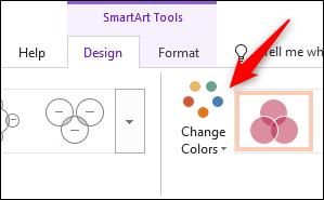 Change colors option
