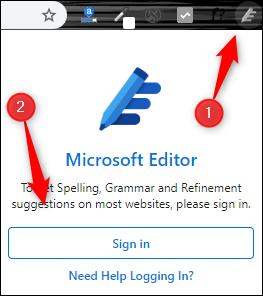 Extensión del editor en Chrome