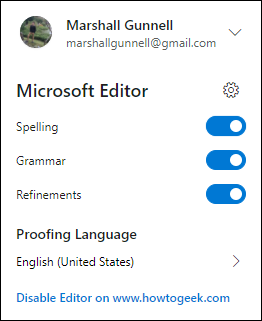 Editor plug-in suggestions