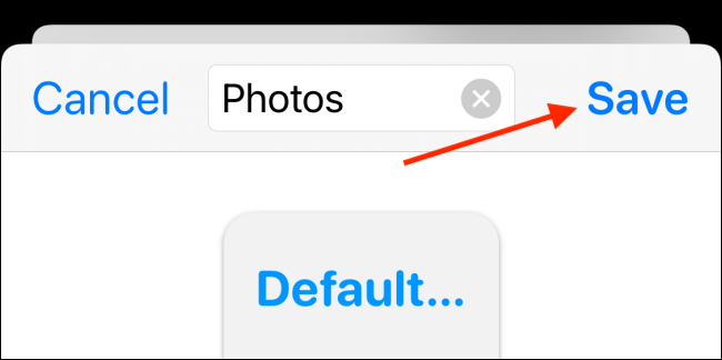 Asigne un nombre al widget y elija el botón Guardar