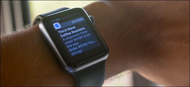 Notification in Apple Watch