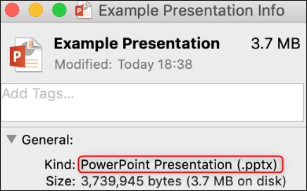 Proof of file conversion success