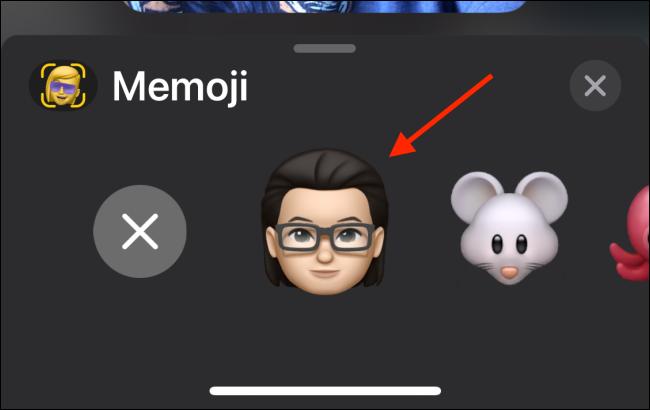 Select Your Memoji