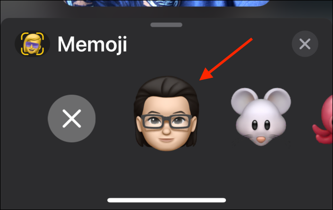 Select Your Memoji