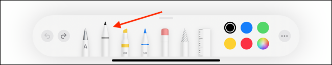 Select the Pen Tool from Toolbar