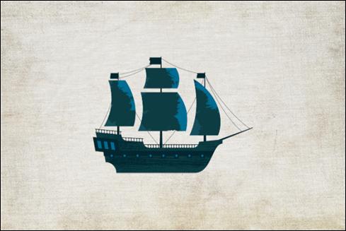 The Pirate Ipsum logo.