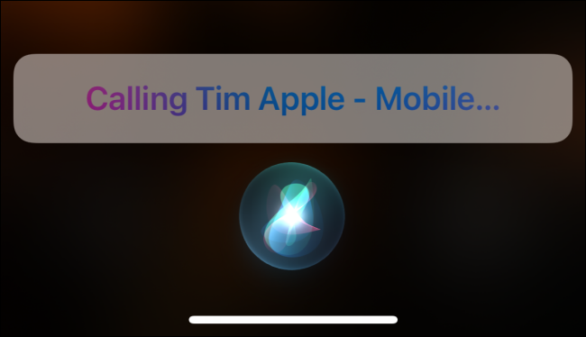 Usar Siri para llamar a alguien