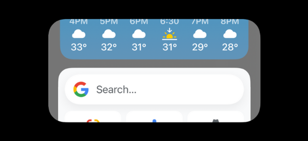 Widget Stack on iPhone Switching Automatically