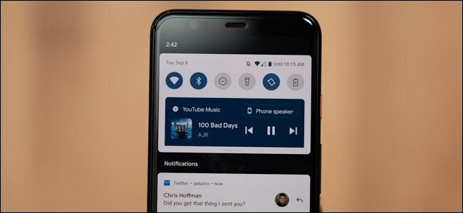 android 11 media controls