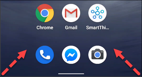 google assistant android gesture