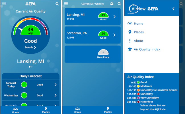 plume air quality app for android